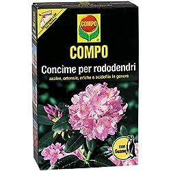Compo 1279112005Fertilizante para rododendros con guano, 1kg, marrón, 4.7x 14.2x 22cm