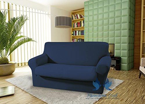 Canapé slavadivano élastique modèle Magic 4 Posti Bleu