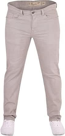 Crosshatch Mens Brand Hardwearing Heavy Duty Slim Fit Denim Jeans Chino Trousers