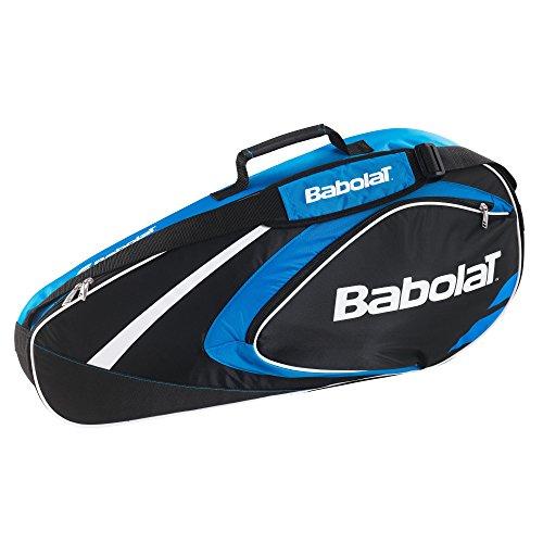 Babolat Schlägertaschen Racket Holder X3 Club Line, Blau, 74 x 14 x 33 cm, 22 Liter, 751080-136