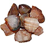 200 Gramm Carneol Achat Natur Roh Steine Wassersteine unbehandelt.(4132-200)