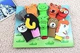 #5: Infinxt Cute Animal Design Set of 10 Finger Puppet