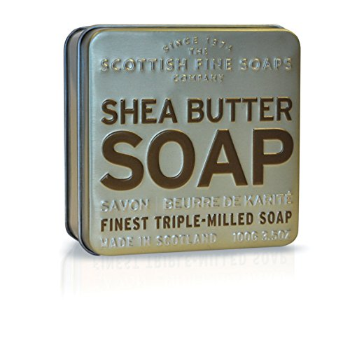 Scottish Fine Soaps Soap in a Tin Shea Butter Soap 100 g -