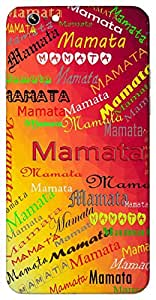 Mamata (Love, affection) Name & Sign Printed All over customize & Personalized!! Protective back cover for your Smart Phone : Samsung Galaxy E-7