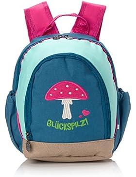 Adelheid Glückspilz Kinderrucksack 13250135908 Unisex-Kinder Unisex-Kinderhandtasche 22x19x15 cm (B x H x T)