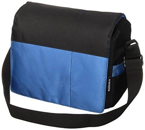 Nikon SLR Tasche für Spiegelreflexkameras, Schwarz/Blau -