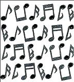Mini de Jolee répète Notes autocollants-musique