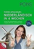 PONS Power-Sprachkurs Niederländisch: Lernen Sie Niederländisch mit Buch, 2 Audio+MP3-CD's und Online-Tests