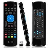 GHB Air Mouse Telecomando Android 4 in 1 a Raggi Infrarossi 3-Gyro + 3-Gsensor 2,4G per Android Smart TV Box G Box HTPC Mini PC Windows iOS MAC Linux PS3 Xbox 360