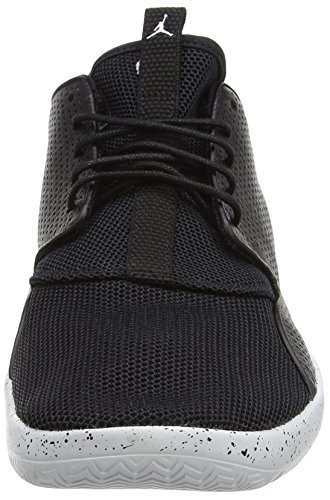 Nike Jordan Eclipse, Baskets Basses Homme, 42 EU Noir - Schwarz (012 BLACK/WHITE-PURE PLATINUM)