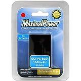 MaximalPower Batterie Rechargeable Li-ion de rechange pour Olympus Evolt/Olympus