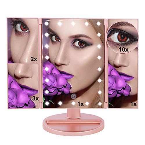 U.S.SOLID Espejo Maquillaje luz Espejo Maquillaje