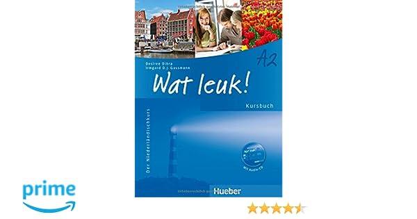 wat leuk a2 der niederländischkurs kursbuch mit audio cd amazon