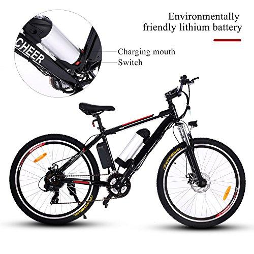 100% QualitäT Lithium-batterie Power Unterstützung Falten Elektro-bike Roller Mit Mittleren Suspension Schock 12 Zoll Sport & Unterhaltung