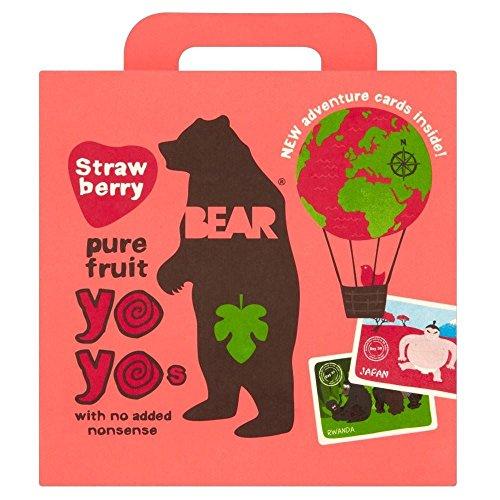 Gardez pur fruits Yo Yos Strawberry (5x20g) - Paquet de 6