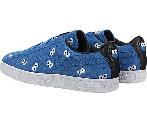 PUMA Select Men s x SESAME STREET Suede Sneakers  French Blue  8 D M  US