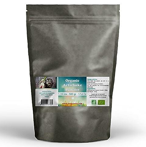 Organic Artichoke Leaf Powder 500 gr - 1.10