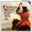 Telemann-Suites-(Ouvertures)-Trevor Pinnock-English Concert-