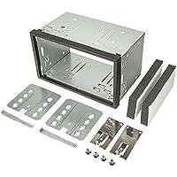 tomzz Audio ® 2400-008 2DIN Doppel DIN Metal Rahmen Einbauschacht Radioblende Einbausatz Einbaurahmen