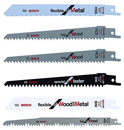 Bosch - Pack de 5 cuchillas para KEO + Bosch 2 608...