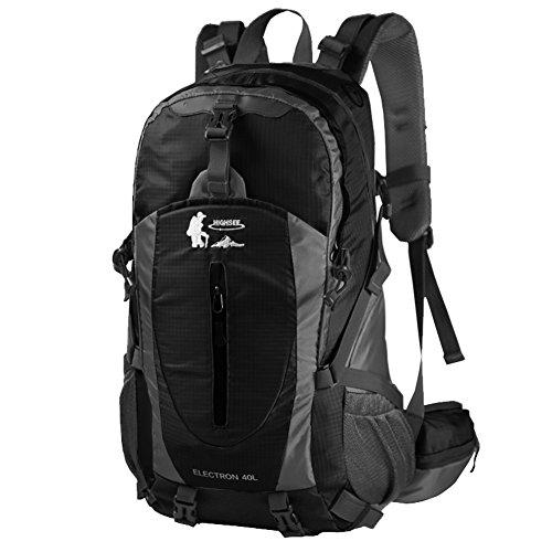 outdoor Wanderrucksack/Paare Reisen Reise-Rucksack/Laptop-Tasche Schwarz