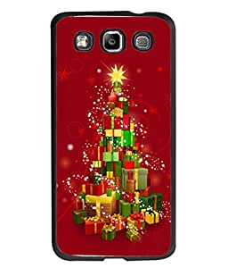 PrintVisa Designer Back Case Cover for Samsung Galaxy Quattro/ Win i8552 (multicolor chirstmas gifts sparkling view)