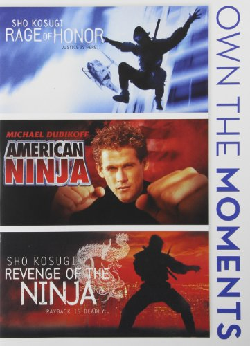 Bild von Rage Of Honor / American Ninja / Revenge Of Ninja [DVD] [Region 1] [NTSC] [US Import]