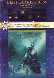 Der Polarexpress (Geschenkbox mit Holzzug)