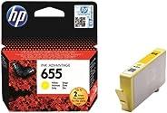 HP 655 Yellow Original Ink Advantage Cartridge - CZ112A
