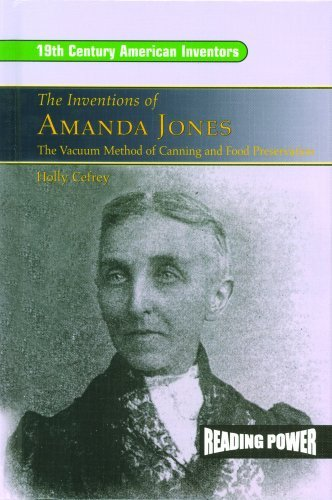 Portada del libro The Inventions of Amanda Jones: The Vacuum Method of Canning and Food Preservation by Lewis K. Parker (August 19,2003)