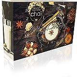David Rio Chai-Tee Adventskalender - 24x leckere Chai-Tees aus San Francisco für jeden Tag im Advent - Geschenkset für die Weihnachtszeit - Weihnachtskalender Adventszeit - Chai Latte
