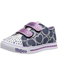Skechers Sparkle Glitz Heartsy Glam, Sneakers Basses Fille