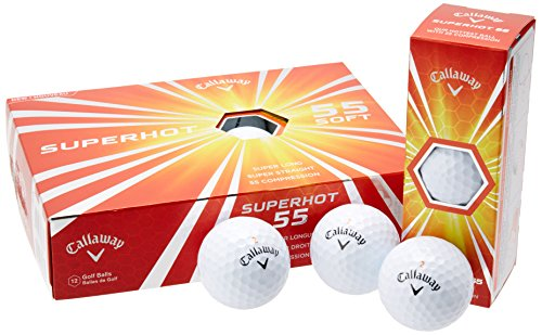 Callaway Superhot 55 Golf Balls (12 Balls) by Callaway
