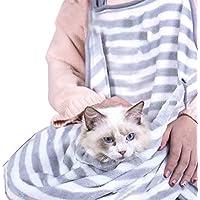 Kbsin212 Cat Holding Delantal Anti-Cabello -Delantal del Pelo del Gato del Abrazo del
