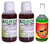 Agro Plus AM003_2 Pesticide - Set of 2 + Free (No Ant Liquid Control 100 ml)