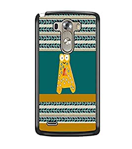 PrintDhaba LGG3bet A D-4325 Back Case Cover for LG G3 (Multi-Coloured)