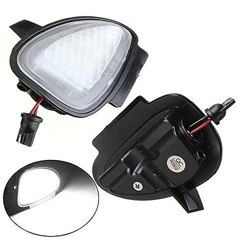 katur 2unter Seite Spiegel Pfütze 6LED-Lichter für VW GTI/Golf Mk66/MkVI 2010–2014Auto (Vw Gti Specs)
