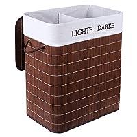 Homfa Bamboo Laundry Basket