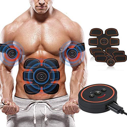 S&W Elettrostimolatore Muscolare Professionale, Elettrostimolatore per Addominali,Massager Bodybuilder Addominali Attrezzi ABS Attrezzature...
