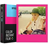 "'Impossible Lot Color photo instantané Film ""Pink Frame Edition pour appareil photo Polaroid 600 8 prises"