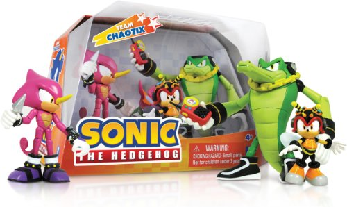 Sonic the Hedgehog Team chaotix Box Set Sonic Figuren Amy
