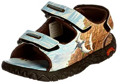 Dinosoles Toddler Dinorama Pteranodon Blue Casual Sandal Din-San-0050 8 Child UK