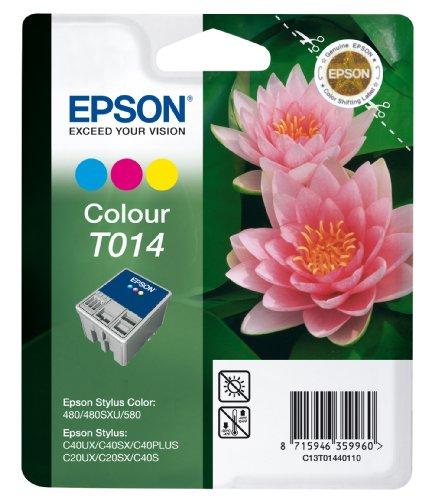 Epson T0144 Cartouche d'encre d'origine Couleur pour SC480 SXU 580 C20 C40