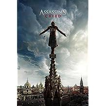 Póster Assassin's Creed - Spire [Promo] (61cm x 91,5cm) + 2 marcos transparentes con suspención