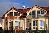 Sonnenschutzfolie für Gebäude silber verspiegelt 76 x 220 cm ~~~~~ schneller Versand innerhalb 24 Stunden ~~~~~