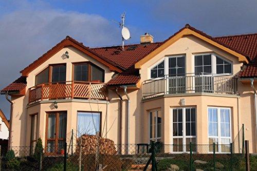 carstyling XXL Sonnenschutzfolie für Gebäude silber verspiegelt 76 x 220 cm ~ schneller Versand innerhalb 24 Stunden ~