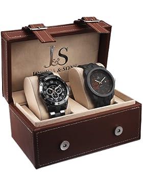 Joshua & Sons js7301Herren Armbanduhr 2Box Set