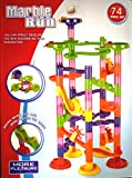 #10: BABY N TOYYS Marble Run STEM Toy 74 pcs Building Blocks