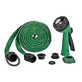 #9: PAGALYetrade Water Spray Gun 10 Meter Pipe for House Garden & Car Wash (Green)