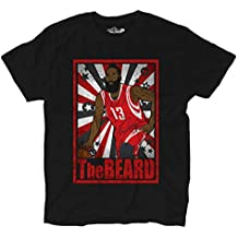 KiarenzaFD Camiseta Camiseta Baloncesto Vintage Parodia James All Star Harden The Beard 1 Hombre, XKTSA01777_M